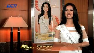 Vivi Wijaya for Miss Indonesia 2015