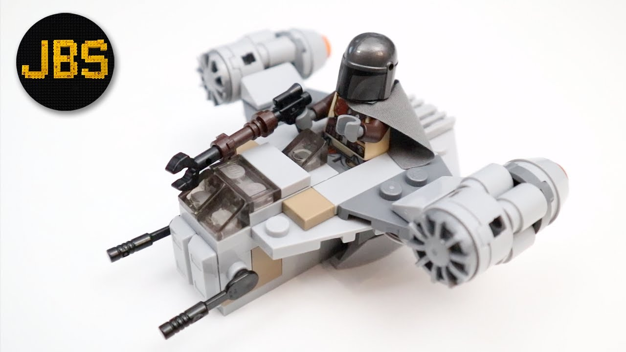 LEGO Mandalorian Razor Crest Microfighter - Review and Build - MOC by Ben's Brick Designs