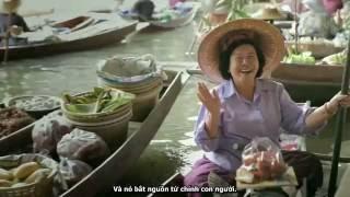[TVC Quảng cáo du lịch Thái Lan] Dịch Anh - Việt và làm phụ đề tiếng Việt