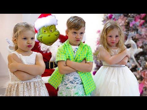 Настя и Гринч - Кто испортил детям Новый год