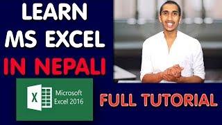 Ms Excel Complete Tutorial In Nepali