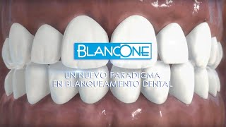BlancOne re-inventa el blanqueamiento dental (subtitles)