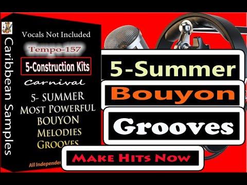 5-Drumloops kits Bouyon Drumloops Tempo-157