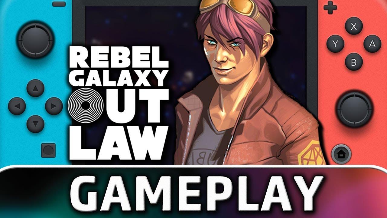 Rebel Galaxy Outlaw | Nintendo Switch Gameplay