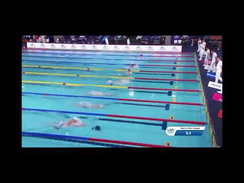 European Championships 2019 Glasgow 200m Breaststroke