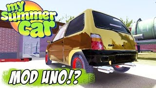 NOVO MOD CARRO - MY SUMMER CAR - SEDAN VAZ 2105 - Самые