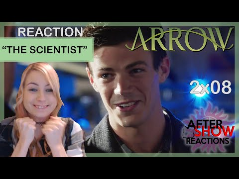 Arrow S02E08 - The Scientist Reaction