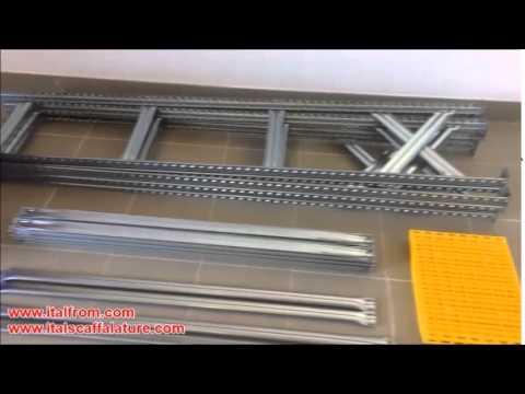 Montaggio scaffalatura metallica ITALFROM