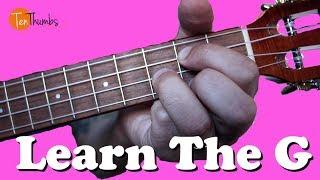 Learn the G Chord - True Beginner Ukulele Tutorial