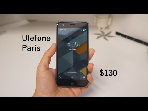 Ulefone Paris:  Unboxing and Review
