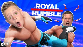 FINALLY!!! Defending our Tag Titles in Road to WWE Royal Rumble Part 1! | K-CITY GAMING