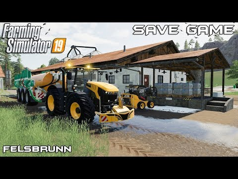 Download Silage Harvest Animals On Felsbrunn Farming Simulator 19
