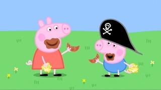 Свинка Пеппа все серии подряд Эпизод #32 Мультики для детей Мультфильм Peppa Pig HD
