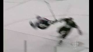 Ovechkin hit on Orpik game 3 playoffs 2009