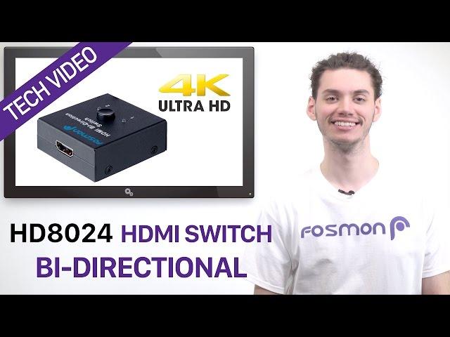 Hdmi Bi Directional Switch Fosmon