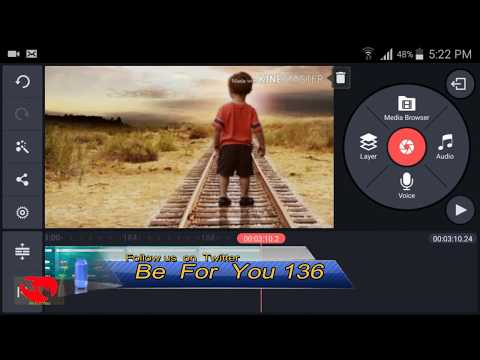 Best video editing software/apk for android smart phone | Kinemaster
