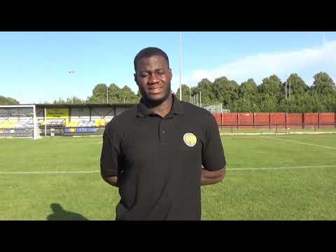 1920 Aaron Opoku Post-Match Newcastle Town 14/09/19