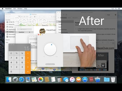 HazeOver Dims Distractions By Fading Background Windows On Your Mac