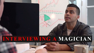Interviewing a Magician - David Lopez