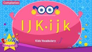 Kids từ vựng biên soạn - Words bắt đầu với I, J, K