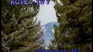 KCTZ TV-7 station id 1991--Forest (Bozeman, MT ABC affiliate)