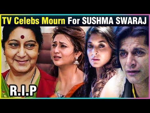 Television Actors REACT On Sushma Swaraj