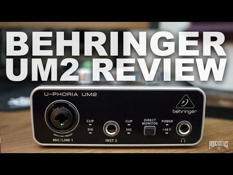 Behringer U-Phoria UM2 Review / Test