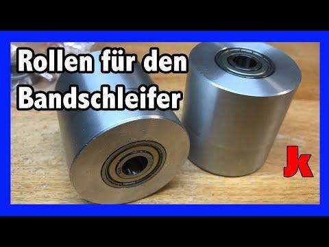 140€ Bandschleifer Eigenbau Teil 1 - Die Rollen und Motor