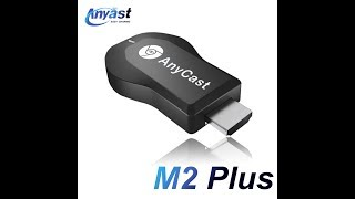 影片教學》把手機畫面傳送到電視或電腦螢幕,AnyCast M2 Plus 鏡像投影使用~《17889直播 - dooclip.me