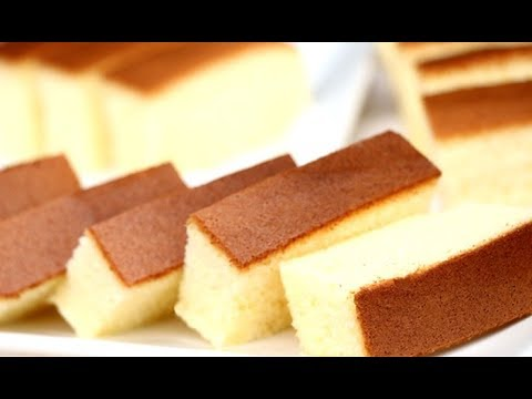 Video How To Make Cotton Soft Sponge Cake | Castella Cake Recipe