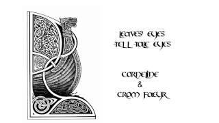 Leaves' Eyes ~ Tell-Tale Eyes ~ Corneline & Crom Faeyr Cover