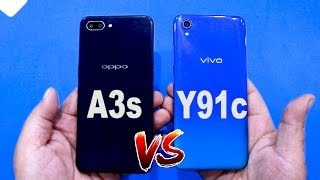 VIVO Y91c VS OPPO A3s , REALME C1 | COMPARISON | SPEED TEST | WHICH IS VALUE FOR MONEY ?🤔🤔