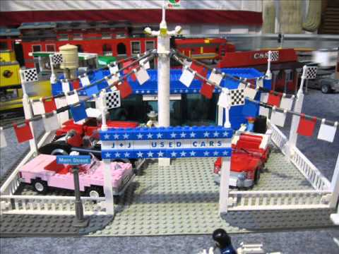 LEGO Amerika Anlage 20m auf der LWF Ulm - Details + Infos