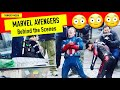 Marvel Cinematic Universe Avengers Behind The Scenes (Bloopers and Stunts During the Production)