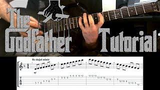 How To Play GodFather Theme On Guitar   Deep Tutorial   İBRAHİM BİRDAL