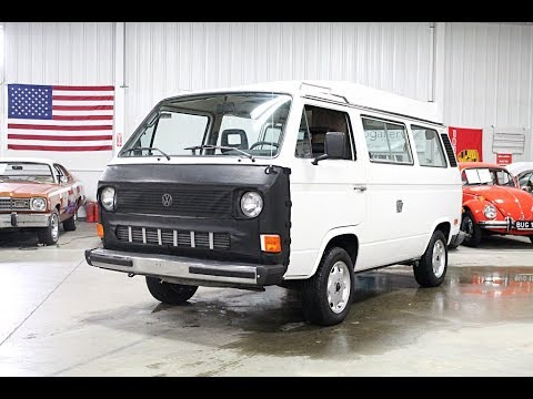Video of 1983 Volkswagen Van located in Michigan Offered by GR Auto Gallery - PPV8