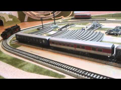 Märklin H0 Dampflok mit Tender 3091 - BR 18478 DB