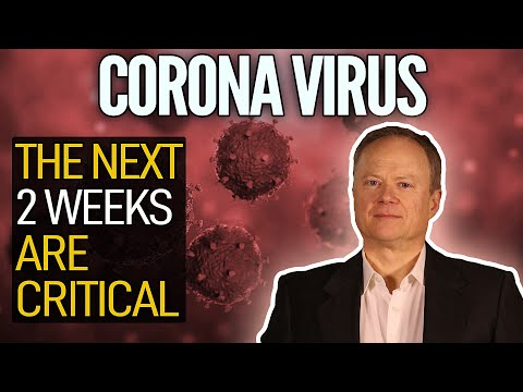 Coronavirus Pandemic: The Next Two Weeks Are Critical! Great Chris Martenson Video!