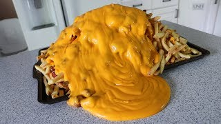 Epic Chili Cheese Fries!! (10,120 Calories) - Video Youtube