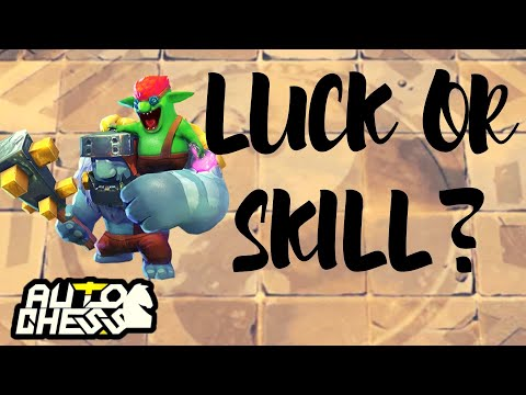 Lucky or Calculated? | AUTO CHESS MOBILE GAMEPLAY