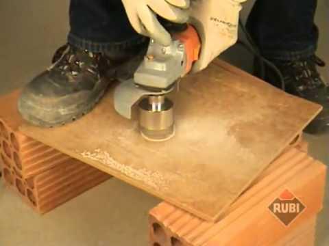 RUBI Brocas Corte Seco para cerámica porcelánico  Dry Cutting drill bits for tiles & porcelain