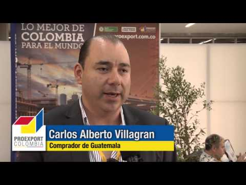 Compradores internacionales quieren más materiales de construcción de Colombia