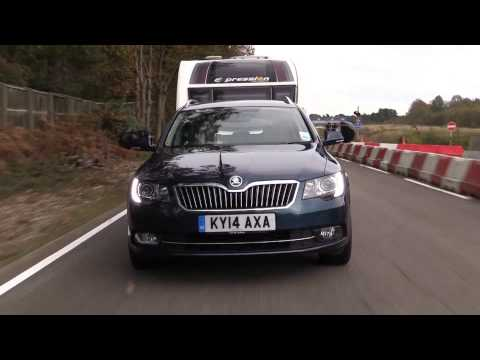 The Practical Caravan Škoda Superb Estate review