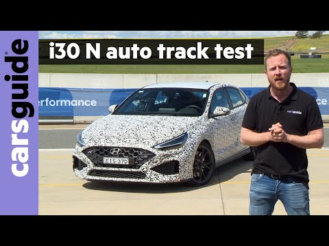 2021 Hyundai i30 N automatic prototype review: Track test