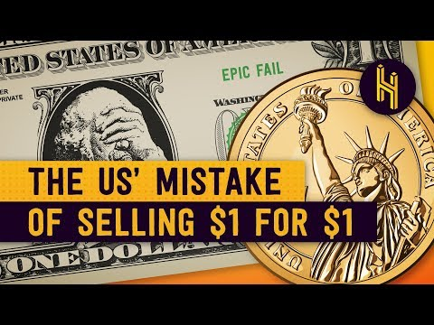 The US Terrible Mistake Of Selling 1 Coins For