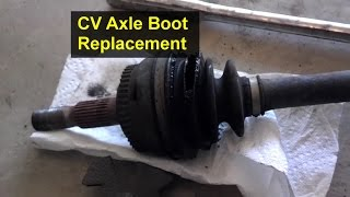 How To Replace The Boots On A CV Axle, Rebuild   VOTD