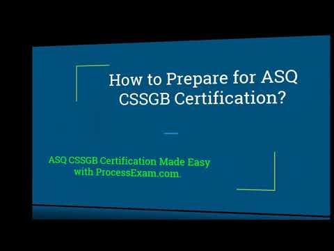 ASQ Six Sigma Green Belt (CSSGB) Certification Exam Questions ...