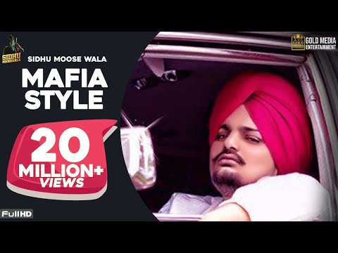 Mafia Style (Official Song) - Sidhu Moose Wala | Aman Hayer | Latest Punjabi Song 2019