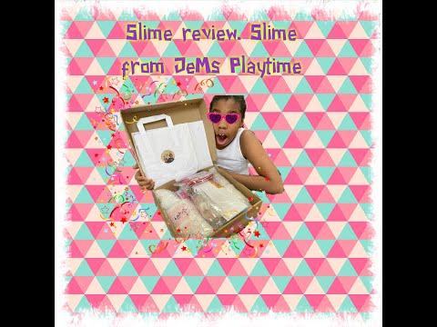 Slime review. Slime from JeMs Playtime #JeMsPlaytime