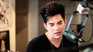 "Adam Lambert ""Better than I know myself"" live on The Bert Show"
